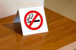 Устранения запаха сигарет курения