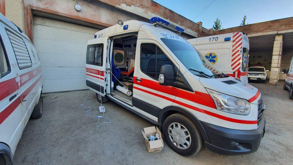 ОЗОН-20 ТК обробка швидкої допомоги
