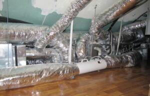 Озонатор встроенный в вентиляционную систему коттеджа